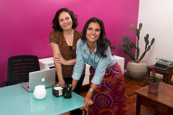 Claudia Bettini e Patrícia Fonseca. Crédito: Arquivo pessoal / Divulgação