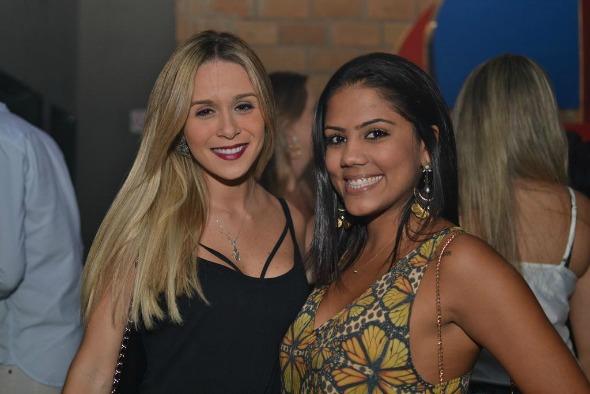 Iasmin Torquato e Thalyta Torres. Crédito: Larissa Nunes/Vagalume Comunicação