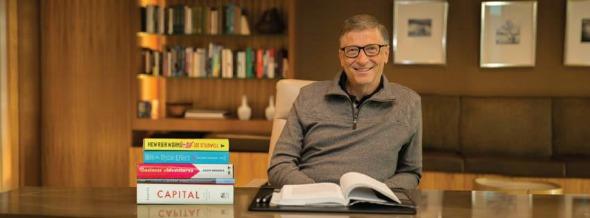 Bill Gates, o homem mais rico do mundo. Crédito: Reprodução Facebook