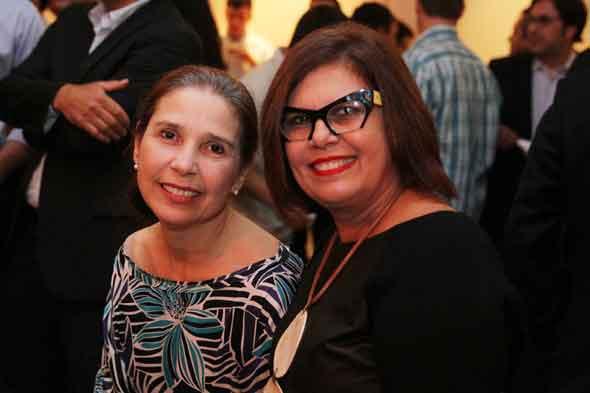 Lourdes Brennand e Náiade Lins = Crédito: Nando Chiappetta/DP/D.A Press