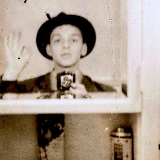 A selfie de Sinatra. Foto: Reprodução/Internet