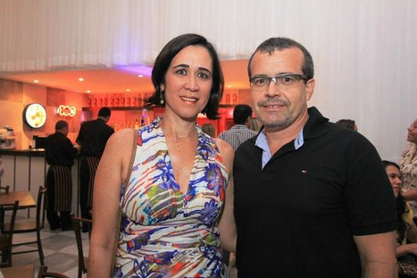 Roberta Arruda e Marcelo Mendes. Crédito: Luiz Fabiano/Divulgação