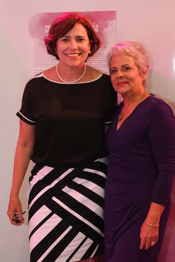 Berenice Andrade Lima e Cristina Maranhão - Crédito: Nando Chiappetta/DP/D.A Press