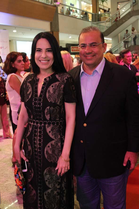 Ana Paula Cascão e Waldir Bitu - Crédito: Nando Chiappetta/DP/D.A Press