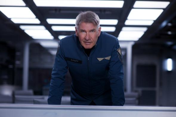 """Harrison Ford no filme """"Ender's Game – O Jogo do Exterminador"""". Crédito: Imprensa/Paris Filmes"""