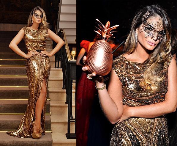 Vestido de paetê - Crédito: Divulgação/blogdathassia.com.br/