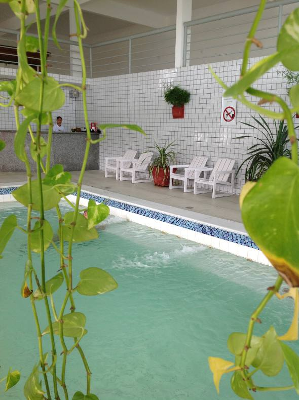 A piscina interna