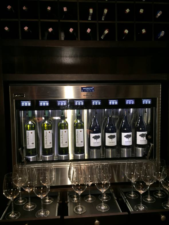 A fantástica Máquina de Vinhos