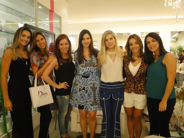 Ana Maria Pimenta, Catarina, Cecília Pontual, Cecília Monteiro, Daniela Dias, Cris Lemos e Victória Gordilho. Crédito: Divulgação