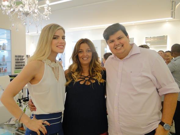 Daniela Dias, Rê Souza e Ricardo Dios. Crédito: Divulgação