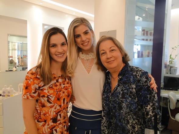 Luíza Guerra, Daniela Dias e Vânia Dias. Crédito: Divulgação