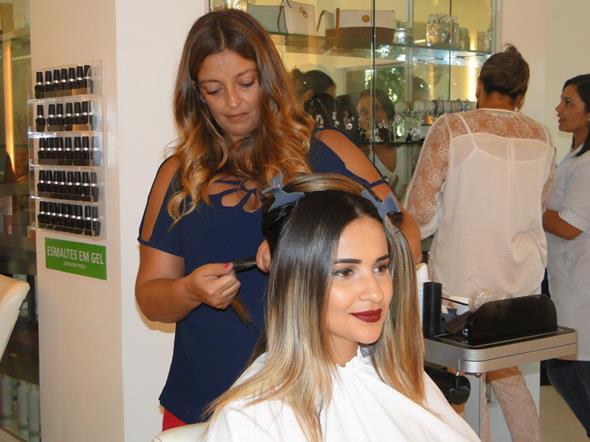 Rê Souza e a blogueira Rebeka Guerra. Crédito: Divulgação