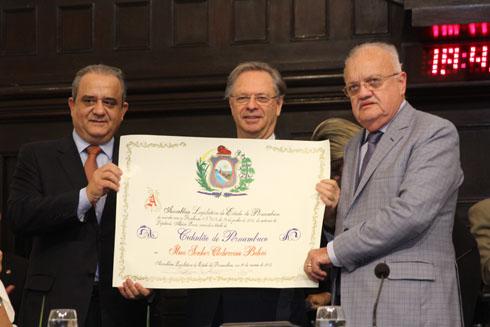 Aluísio Lessa, Cledorvino Belini e Guilherme Uchôa - Crédito: Nando Chiappetta/DP/D.A Press