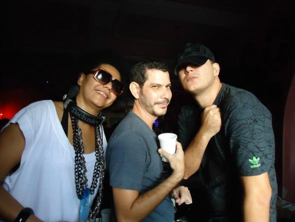 Lala K, Kleber Pedrosa e Felipe Machado: os residentes da Sem Loção. Crédito: Divulgação