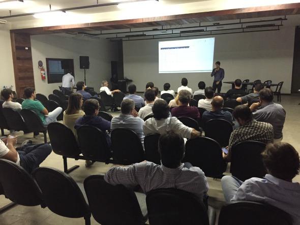 Reunião aconteceu ontem na Cachaçaria Carvalheira. Crédito: Divulgação