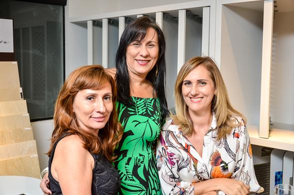 YUKA ROSAS, ANDREA BEZERRA E FABIANA TEIX - Crédito: Divulgação/Villa Pietra