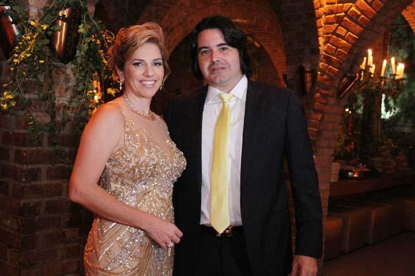 Carla Konrad e Fábio Pontes. Crédito: Nando Chiappetta/DP/D.A Press