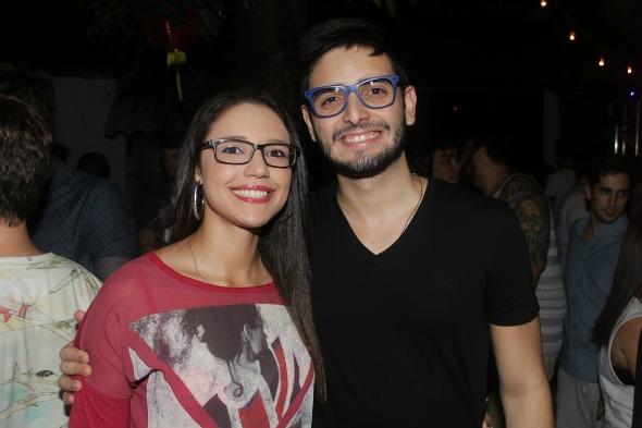 Alessandra Lemos e Guilherme Fontes. Crédito: Vinicius Ramos/Vagalume Comunicação