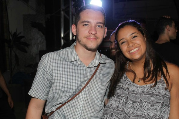 Andrade Junior e Aylla Cunha. Crédito: Vinicius Ramos/Vagalume Comunicação