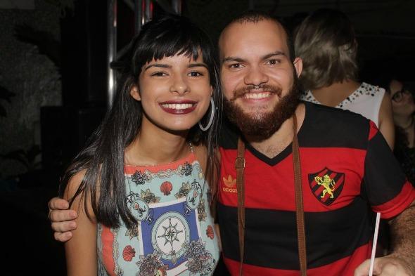 Juliana Barbosa e Pedro Andrade. Crédito: Vinicius Ramos/Vagalume Comunicação
