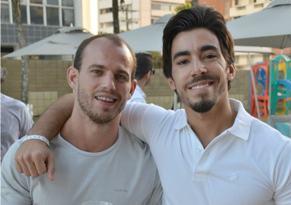 Lucas Simonetti e Daniel Lobo. Crédito: Ricardo Moreira/Divulgação