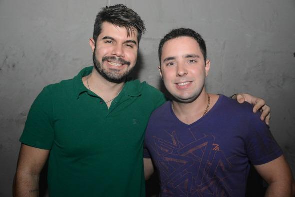Luiz Campos e Patrick Tavares. Crédito: Gabriel Pontual/Moove Comunicação
