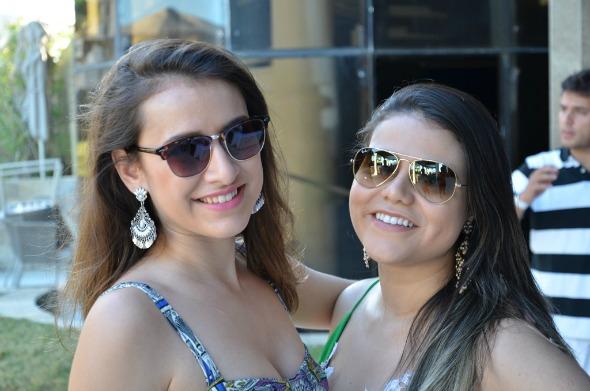 Sylvia Assumpção e Wanessa Tavares. Crédito: Ricardo Moreira/Divulgação