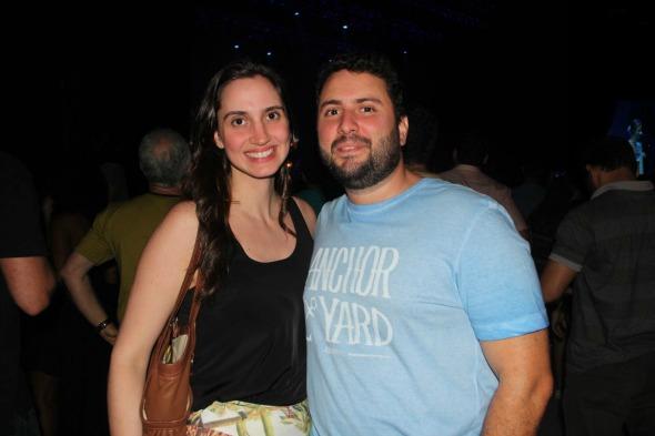 Camila Barbosa e Felipe Barroso. Crédito: Larissa Nunes/Divulgação