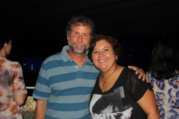Ana Clara Marinho e Léo Veras. Crédito: Larissa Nunes/Divulgação