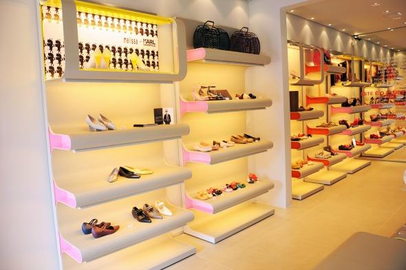 Nova loja do Clube Melissa no Plaza Shopping  - Crédito: Melissa/Divulgação