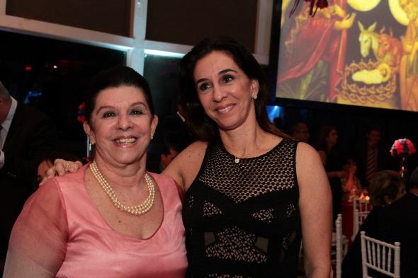 Celinha Batista e Patrícia Gomes. Crédito: Nando Chiappetta/DP/D.A Press