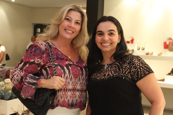 Izabel Farias e Romenia Dias Crédito: Nando Chiappetta/DP/D.A Press