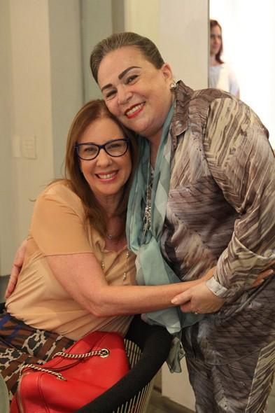 Marina Paiva e Sophia Lins Crédito: Nando Chiappetta/DP/D.A Press