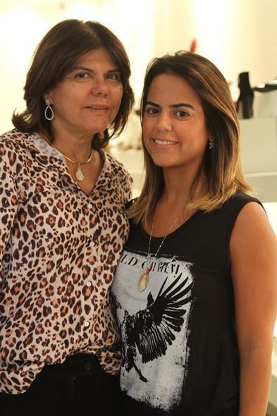 Tanara Tenório e Manuela Tenório Crédito: Nando Chiappetta/DP/D.A Press