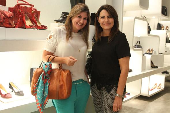 Alessandra Monteiro e Leila Queiroz Crédito: Nando Chiappetta/DP/D.A Press