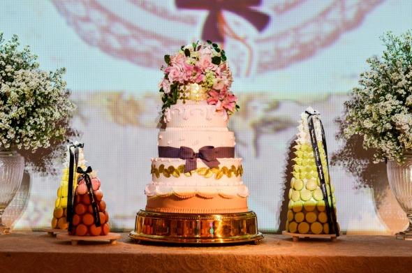 O bolo levou assinatura de Jéssica Pires. Créditos: Elton Camilo/Divulgação