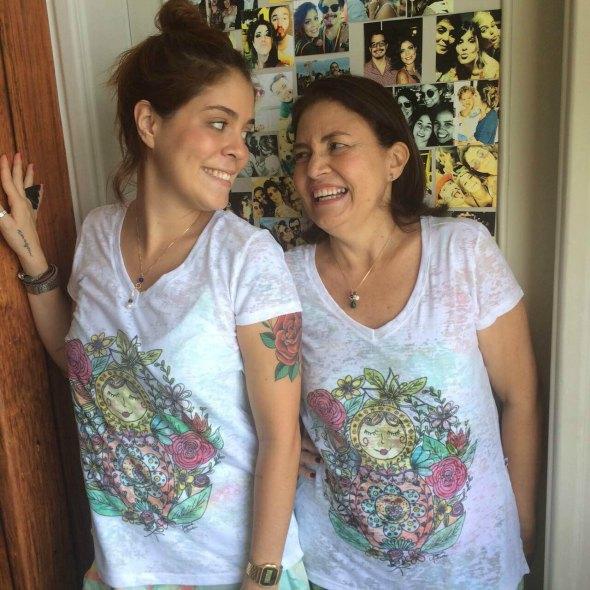 Bella e Lourdes Maia fazem parte da campanha do Cabine Fashion. Créditos: Tereza Branco/ Divulgação