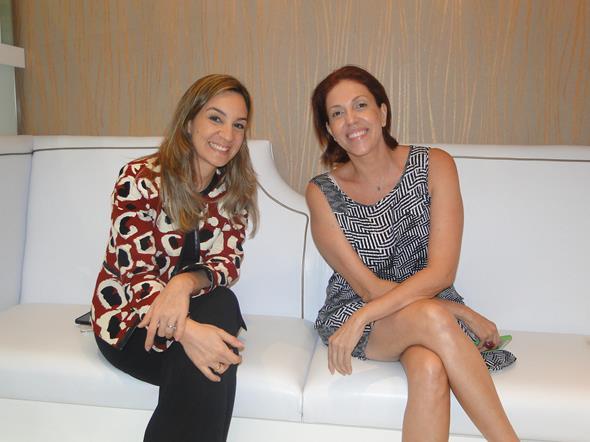 Camila Brandão e Cris Glasner. Crédito: Marília Carvalho/Divulgação