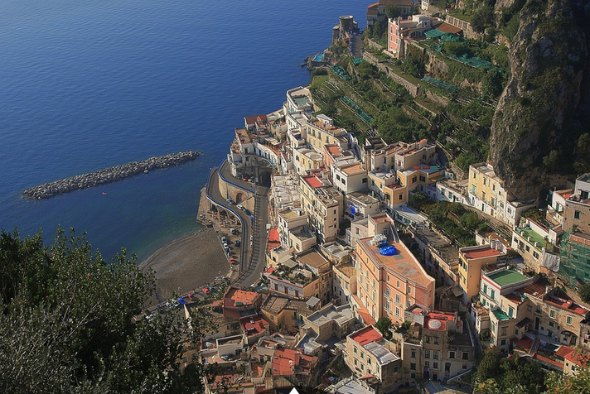 Costa Amalfitana Créditos: Antolo/ Creatives Commons