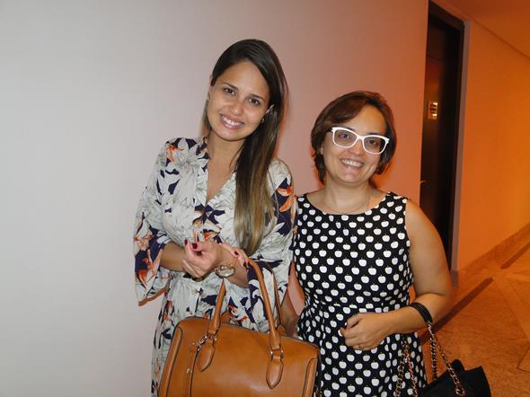Talita Corrêa e Ana Karla Gomes. Crédito: Marília Carvalho/Divulgação