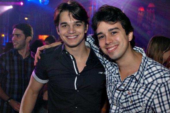 Victor Carvalheira e Rafael Lobo - Crédito: Nando Chiappetta/DP/D. A Press