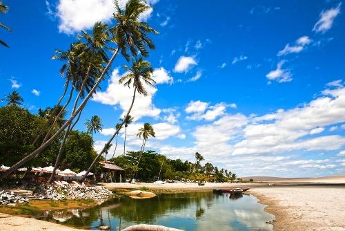 Praia de Jericoara Créditos: Site Time Out.com.br