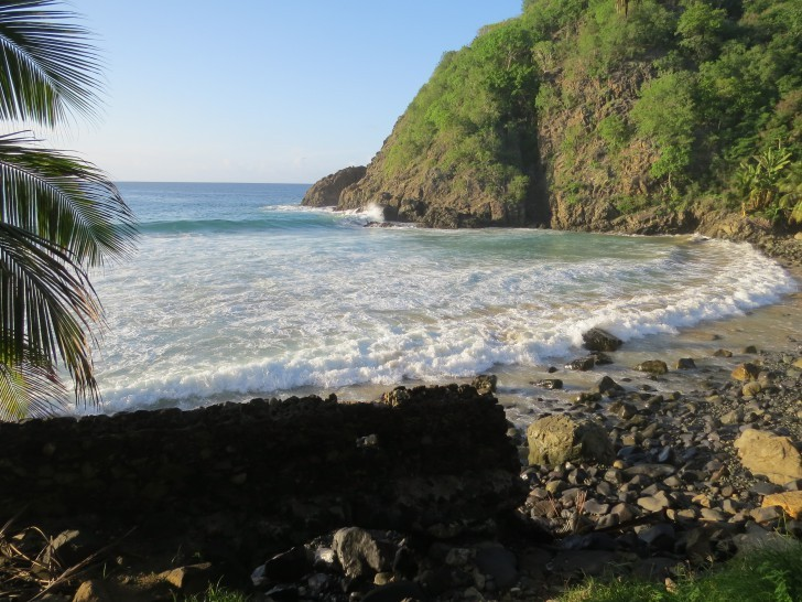 Praia do Cachorro está localizada no arquipélago de Fernando de Noronha.  Crédito: Ana Clara Marinho/ Viver Noronha.