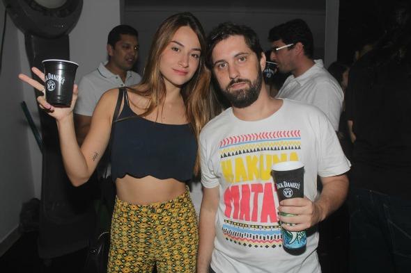 Camila Suassuna e Alan pastick Créditos: Vinicius Ramos/Vagalume Comunicação