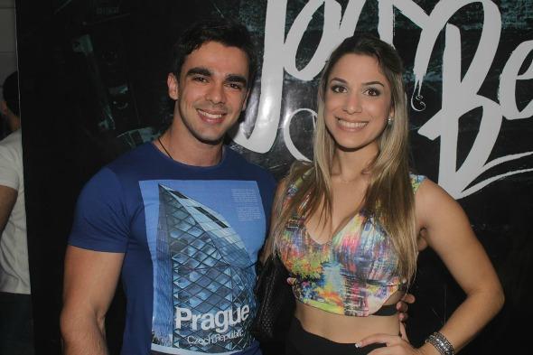 Daniela Castro e Jaime Vasconcelos Créditos: Vinicius Ramos/Vagalume Comunicação