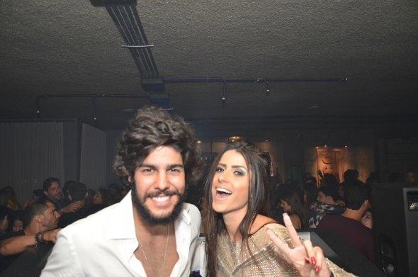 José Pinteiro e Camila Peixoto Créditos: Ricardo Moreira/ Divulgação