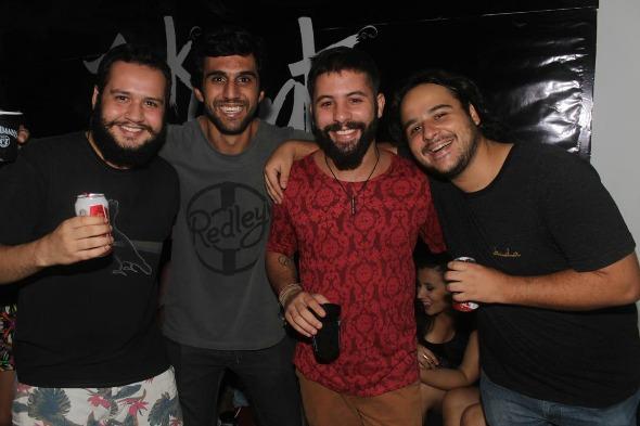Os produtores da noite Créditos: Vinicius Ramos/Vagalume Comunicação