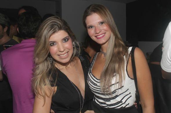Rebeca Cadeas e Jéssica Aguiar Créditos: Vinicius Ramos/Vagalume Comunicação