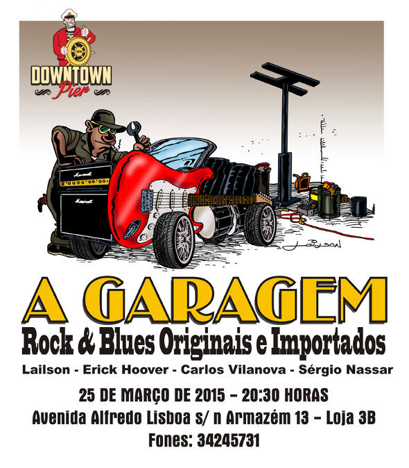 a garagem poster 01 low
