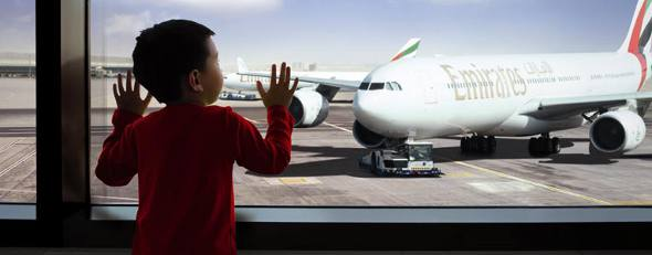 Avião da Emirates/Divulgação